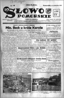 Słowo Pomorskie 1938.10.20 R.18 nr 241