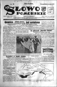 Słowo Pomorskie 1938.11.03 R.18 nr 252