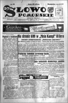 Słowo Pomorskie 1938.12.04 R.18 nr 278