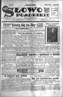 Słowo Pomorskie 1938.12.06 R.18 nr 279