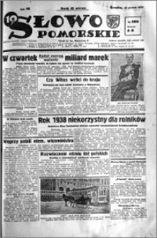 Słowo Pomorskie 1938.12.14 R.18 nr 285