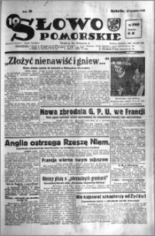 Słowo Pomorskie 1938.12.16 R.18 nr 288