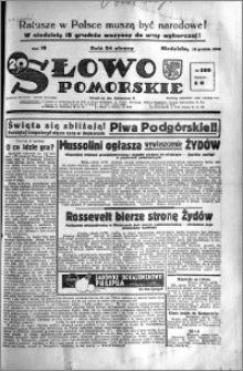 Słowo Pomorskie 1938.12.18 R.18 nr 289