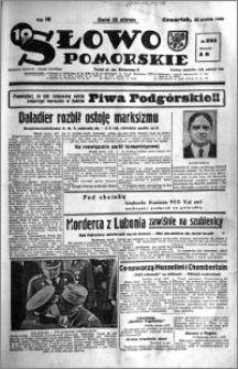 Słowo Pomorskie 1938.12.22 R.18 nr 292