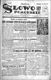 Słowo Pomorskie 1938.12.31 R.18 nr 299