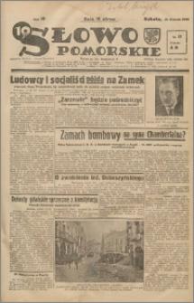 Słowo Pomorskie 1939.01.21 R.19 nr 17