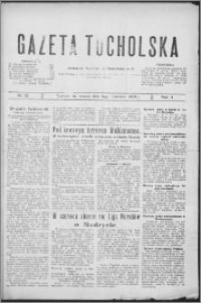 Gazeta Tucholska 1929, R. 2, nr 59