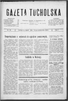 Gazeta Tucholska 1929, R. 2, nr 116