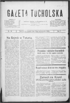 Gazeta Tucholska 1929, R. 2, nr 119