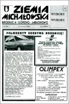 Ziemia Michałowska : Brodnica-Górzno-Jabłonowo R. 1994, Nr 13/14 (96/97)