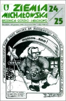 Ziemia Michałowska : Brodnica-Górzno-Jabłonowo R. 1994, Nr 24/25 (107/108)