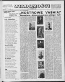 Wiadomości, R. 17 nr 6 (828), 1962