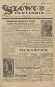 Słowo Pomorskie 1939.02.04 R.19 nr 28
