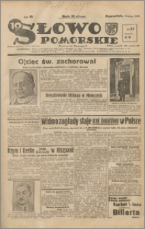 Słowo Pomorskie 1939.02.09 R.19 nr 32