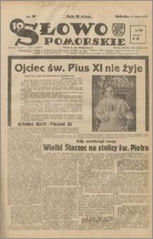 Słowo Pomorskie 1939.02.11 R.19 nr 34