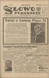 Słowo Pomorskie 1939.02.12 R.19 nr 35