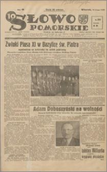 Słowo Pomorskie 1939.02.14 R.19 nr 36