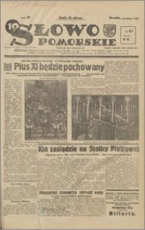 Słowo Pomorskie 1939.02.15 R.19 nr 37