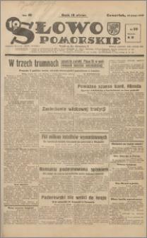 Słowo Pomorskie 1939.02.16 R.19 nr 38