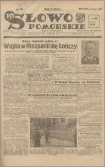 Słowo Pomorskie 1939.02.21 R.19 nr 42