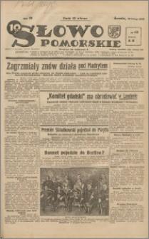 Słowo Pomorskie 1939.02.22 R.19 nr 43