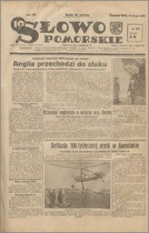 Słowo Pomorskie 1939.02.23 R.19 nr 44