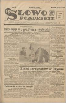 Słowo Pomorskie 1939.02.24 R.19 nr 45