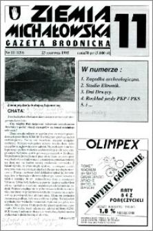 Ziemia Michałowska : Gazeta Brodnicka R. 1995, Nr 11 (120)