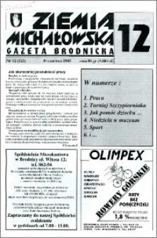 Ziemia Michałowska : Gazeta Brodnicka R. 1995, Nr 12 (121)