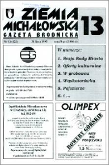 Ziemia Michałowska : Gazeta Brodnicka R. 1995, Nr 13 (122)