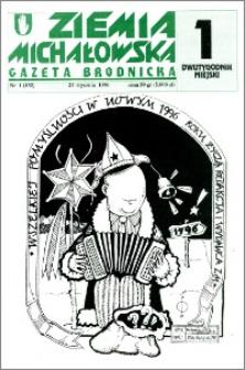 Ziemia Michałowska : Gazeta Brodnicka R. 1996, Nr 1 (132)
