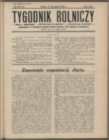Tygodnik Rolniczy 1937, R. 21 nr 43/44