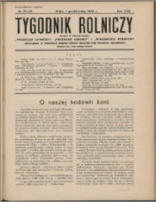 Tygodnik Rolniczy 1938, R. 22 nr 37/38