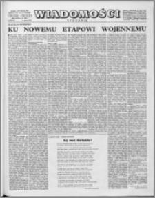 Wiadomości, R. 17 nr 10 (832), 1962