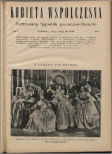 Kobieta Współczesna 1927, R. 1 nr 5