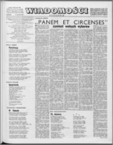 Wiadomości, R. 17 nr 15 (837), 1962