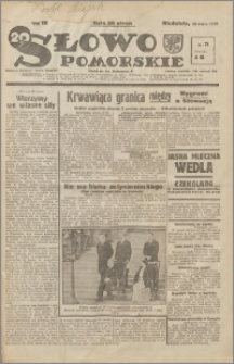 Słowo Pomorskie 1939.03.26 R.19 nr 71