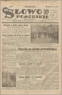 Słowo Pomorskie 1939.03.29 R.19 nr 73