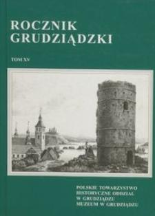 Rocznik Grudziądzki T.15