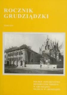 Rocznik Grudziądzki T.16
