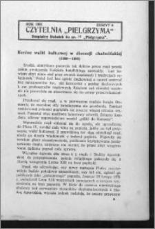 Czytelnia Pielgrzyma, R. 63 (1931), z. 6