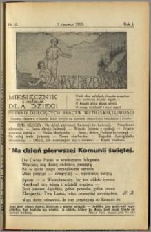 Nasz Przewodnik 1913, R. I, nr 6