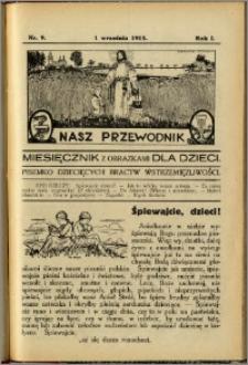 Nasz Przewodnik 1913, R. I, nr 9