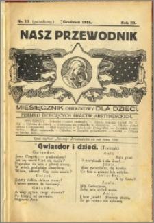 Nasz Przewodnik 1915, R. III, nr 12