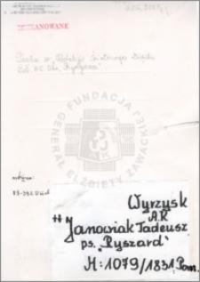 Janowiak Tadeusz