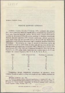 Rękopis Słownika Lindego