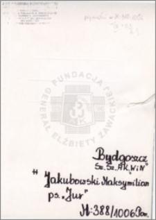 Jakubowski Maksymilian