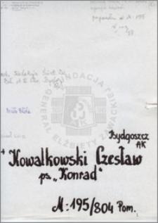 Kowalkowski Czesław