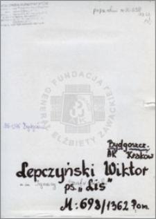 Lepczyński Wiktor