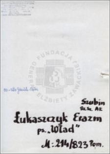 Łukaszczyk Erazm